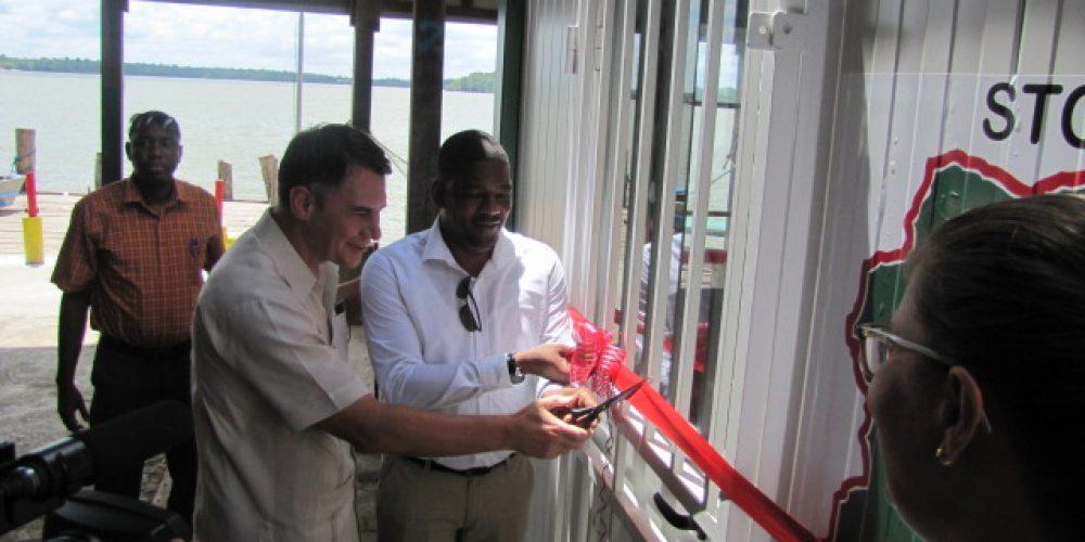 Opening Cabin in Albina