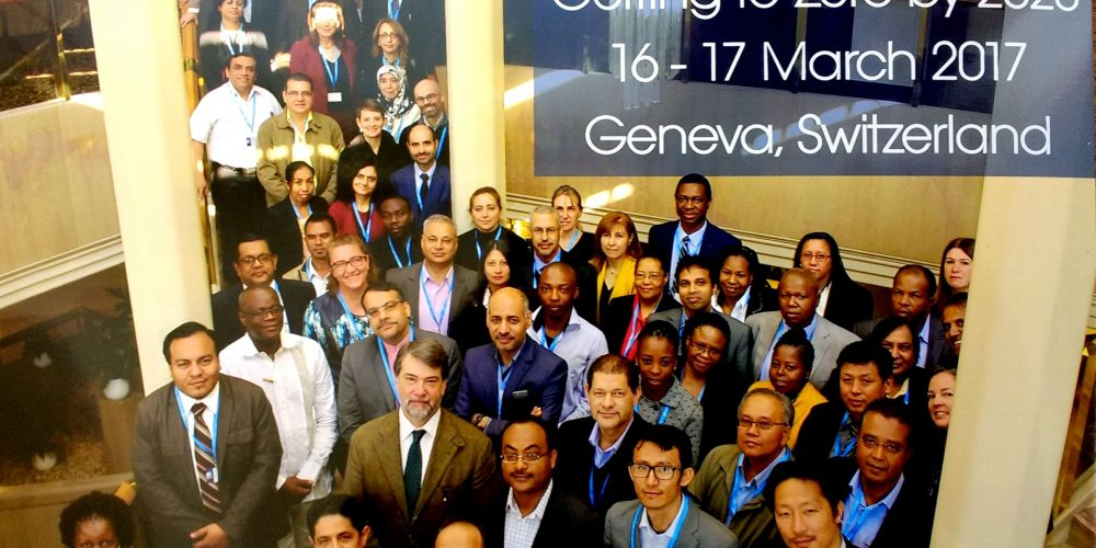 "WHO meeting, ""Getting to Zero by 2020"" 16-17 March 2017 Geneva, Switzerland"